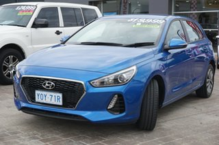 2017 Hyundai i30 PD MY18 Active Blue 6 Speed Manual Hatchback