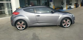 2013 Hyundai Veloster FS3 Street Coupe Sonic Silver 6 Speed Manual Hatchback