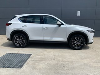 2020 Mazda CX-5 KF4WLA GT SKYACTIV-Drive i-ACTIV AWD Snowflake White 6 Speed Sports Automatic Wagon.