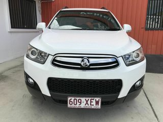 2011 Holden Captiva CG Series II 7 AWD CX White 6 Speed Sports Automatic Wagon.