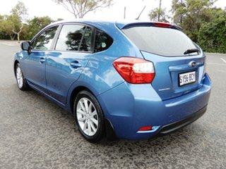 2014 Subaru Impreza G4 MY14 2.0i Lineartronic AWD Quartz Blue 6 Speed Constant Variable Hatchback