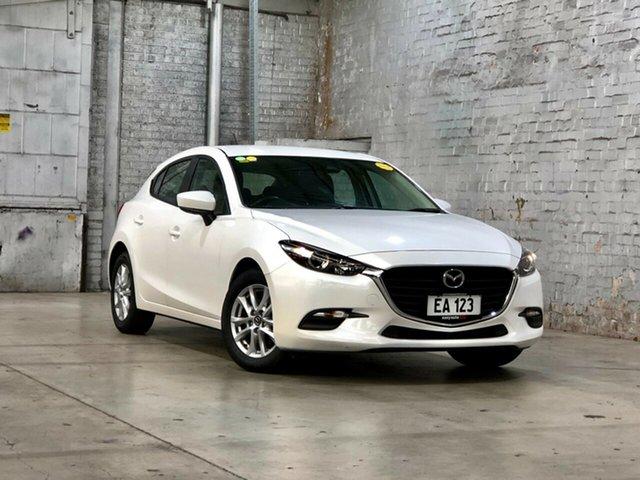 Used Mazda 3 BN5478 Neo SKYACTIV-Drive Mile End South, 2017 Mazda 3 BN5478 Neo SKYACTIV-Drive White 6 Speed Sports Automatic Hatchback