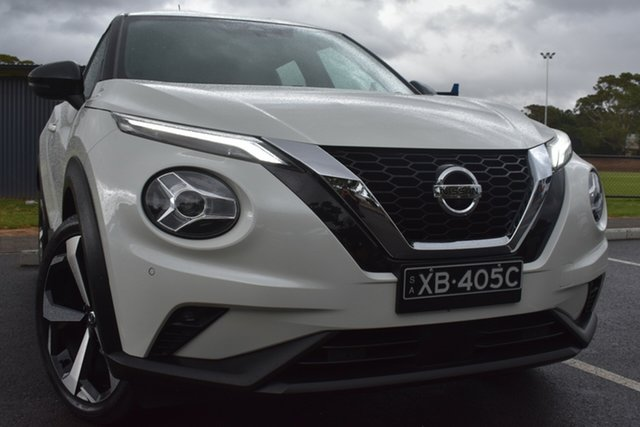 Used Nissan Juke F16 ST-L DCT 2WD St Marys, 2020 Nissan Juke F16 ST-L DCT 2WD White 7 Speed Sports Automatic Dual Clutch Hatchback