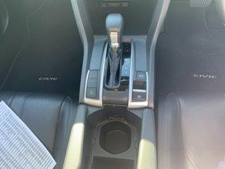 2017 Honda Civic 10th Gen MY16 VTi-LX White 1 Speed Constant Variable Sedan