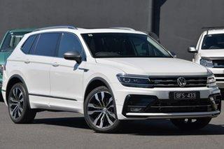 2019 Volkswagen Tiguan 5N MY20 162TSI Highline DSG 4MOTION Allspace White 7 Speed.