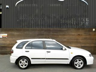 2000 Nissan Pulsar N15 S2 SSS White 4 Speed Automatic Hatchback.