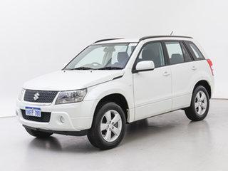 2012 Suzuki Grand Vitara JT MY08 Upgrade (4x4) White 5 Speed Manual Wagon.