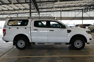 2017 Ford Ranger PX MkII XL Hi-Rider Cool White 6 Speed Sports Automatic Utility