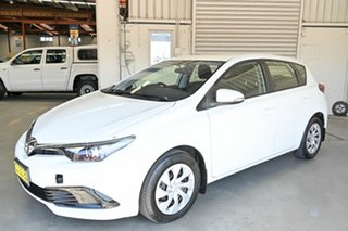 2016 Toyota Corolla ZRE182R Ascent S-CVT White 7 Speed Constant Variable Hatchback