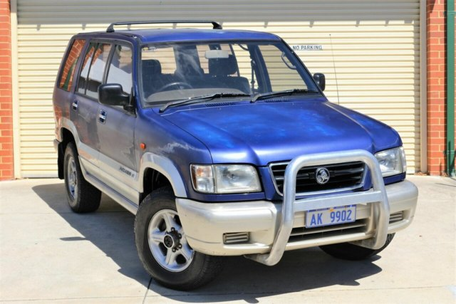Used Holden Jackaroo L8 SE Mount Lawley, 1998 Holden Jackaroo L8 SE Blue 5 Speed Manual Wagon