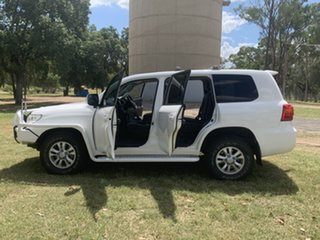2014 Toyota Landcruiser VDJ200R MY13 GXL White 6 Speed Sports Automatic Wagon