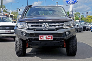 2018 Volkswagen Amarok 2H MY18 TDI550 4MOTION Perm Highline Grey 8 Speed Automatic Utility.