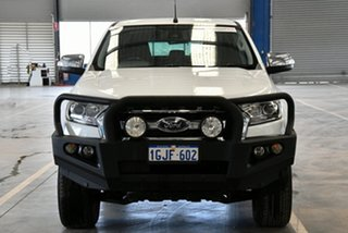 2017 Ford Ranger PX MkII MY17 XLT 3.2 (4x4) Cool White 6 Speed Automatic Double Cab Pick Up