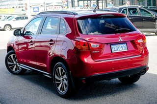 2015 Mitsubishi ASX XB MY15 LS 2WD Red/Black 6 Speed Constant Variable Wagon.