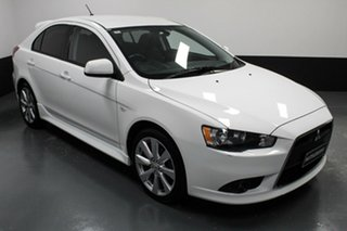 2014 Mitsubishi Lancer CJ MY15 GSR Sportback White 6 Speed Constant Variable Hatchback