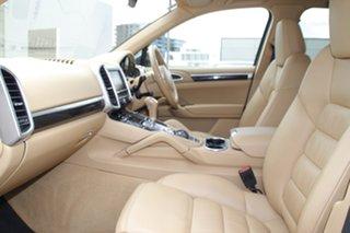 2014 Porsche Cayenne 92A MY15 Diesel Tiptronic Blue 8 Speed Sports Automatic Wagon.