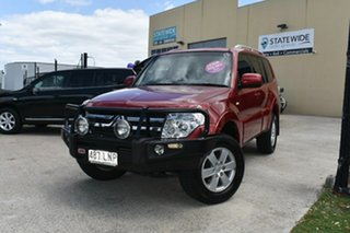 2008 Mitsubishi Pajero NS GLX LWB (4x4) Red 5 Speed Auto Sports Mode Wagon