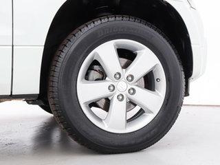 2012 Suzuki Grand Vitara JT MY08 Upgrade (4x4) White 5 Speed Manual Wagon