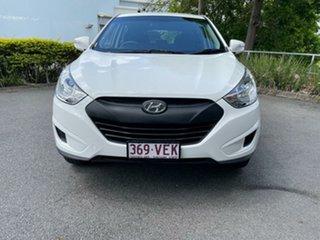 2013 Hyundai ix35 LM2 Active White 6 Speed Sports Automatic Wagon.
