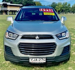 2016 Holden Captiva CG MY16 LS 2WD Silver 6 Speed Sports Automatic Wagon.