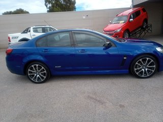 2016 Holden Commodore VF II MY16 SV6 Black Blue 6 Speed Sports Automatic Sedan.