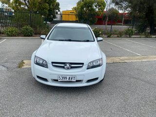 2008 Holden Commodore VE MY09 Omega Sportwagon White 4 Speed Automatic Wagon.
