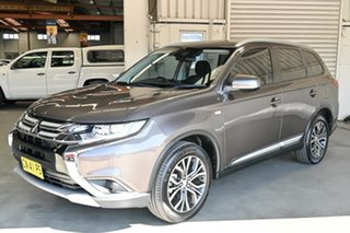 2017 Mitsubishi Outlander ZL MY18.5 ES 2WD ADAS Ironbark 6 Speed Constant Variable Wagon
