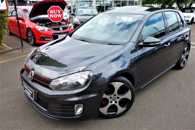 Used Volkswagen Golf VI MY11 GTi Seaford, 2011 Volkswagen Golf VI MY11 GTi Grey 6 Speed Manual Hatchback