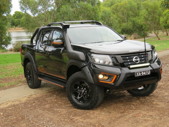 Demo Nissan Navara D23 S4 MY20 N-TREK Warrior Morphett Vale, 2020 Nissan Navara D23 S4 MY20 N-TREK Warrior Cosmic Black 7 Speed Sports Automatic Utility