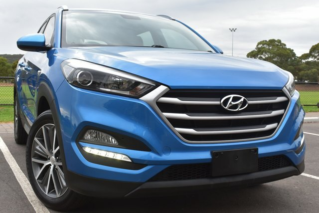 Used Hyundai Tucson TL MY17 Active X 2WD St Marys, 2017 Hyundai Tucson TL MY17 Active X 2WD Blue 6 Speed Sports Automatic Wagon