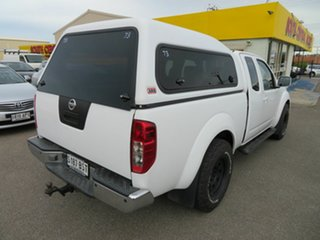 2012 Nissan Navara D40 MY12 RX (4x4) White 6 Speed Manual King Cab Chassis