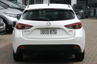 2015 Mazda 3 BM5438 SP25 SKYACTIV-Drive White 6 Speed Sports Automatic Hatchback