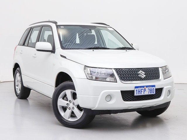 Used Suzuki Grand Vitara JT MY08 Upgrade (4x4), 2012 Suzuki Grand Vitara JT MY08 Upgrade (4x4) White 5 Speed Manual Wagon