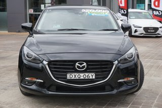 2018 Mazda 3 BN5438 SP25 SKYACTIV-Drive GT Black 6 Speed Sports Automatic Hatchback.