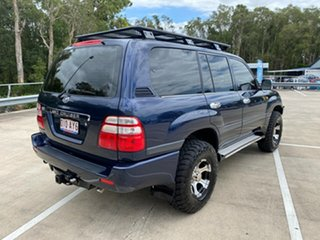 2005 Toyota Landcruiser UZJ100R GXL (4x4) Blue 5 Speed Automatic Wagon.