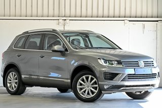 2016 Volkswagen Touareg 7P MY16 V6 TDI Tiptronic 4MOTION Grey 8 Speed Sports Automatic Wagon.