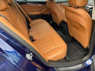 2019 BMW 5 Series G30 520i Steptronic Luxury Line Blue 8 Speed Sports Automatic Sedan