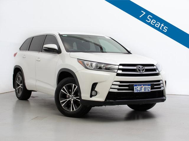 Used Toyota Kluger GSU55R MY17 GX (4x4), 2018 Toyota Kluger GSU55R MY17 GX (4x4) White 8 Speed Automatic Wagon