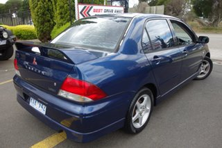2002 Mitsubishi Lancer CG VR-X Blue 4 Speed Sports Automatic Sedan.