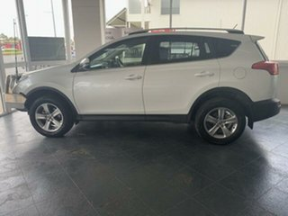 2014 Toyota RAV4 ZSA42R GXL (2WD) White Continuous Variable Wagon