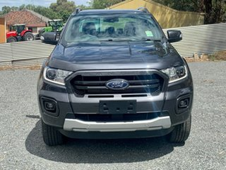2019 Ford Ranger PX MkIII 2020.25MY Wildtrak Grey 10 Speed Sports Automatic Double Cab Pick Up.