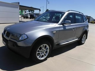 2004 BMW X3 E83 Steptronic Silver 5 Speed Sports Automatic Wagon