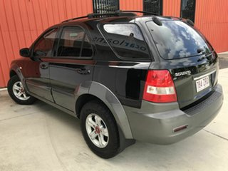2005 Kia Sorento BL MY05 EX Black 5 Speed Sports Automatic Wagon.