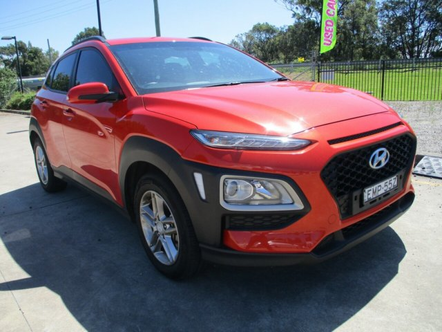 Used Hyundai Kona OS MY18 Active D-CT AWD Glendale, 2017 Hyundai Kona OS MY18 Active D-CT AWD Orange 7 Speed Sports Automatic Dual Clutch Wagon
