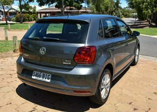 2016 Volkswagen Polo 6R MY16 81TSI DSG Comfortline Grey 7 Speed Sports Automatic Dual Clutch