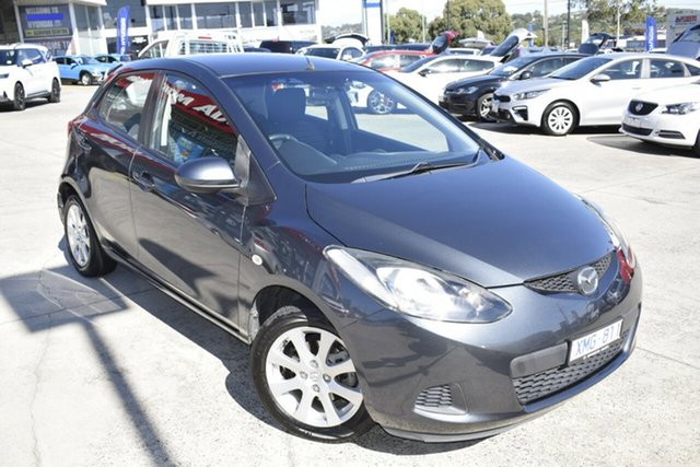Used Mazda 2 DE10Y1 Maxx Ferntree Gully, 2009 Mazda 2 DE10Y1 Maxx Grey 5 Speed Manual Hatchback