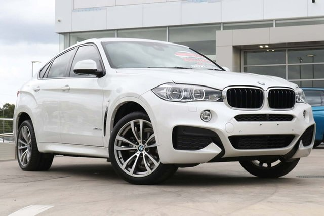Used BMW X6 F16 xDrive30d Coupe Steptronic Liverpool, 2018 BMW X6 F16 xDrive30d Coupe Steptronic White 8 Speed Sports Automatic Wagon