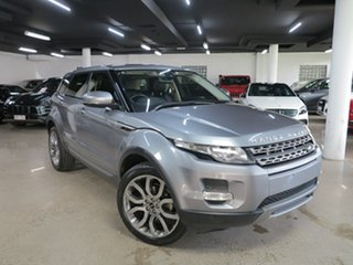 2013 Land Rover Range Rover Evoque L538 MY13 TD4 CommandShift Pure Grey 6 Speed Sports Automatic.