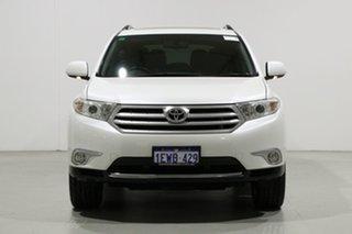 2011 Toyota Kluger GSU40R MY11 Upgrade Grande (FWD) White 5 Speed Automatic Wagon.