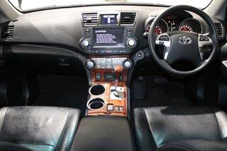 2011 Toyota Kluger GSU40R MY11 Upgrade Grande (FWD) White 5 Speed Automatic Wagon